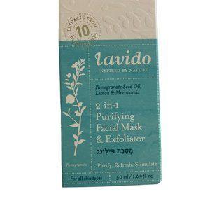 Lavido 2-in-1 Purifying Facial Mask & Exfoliator